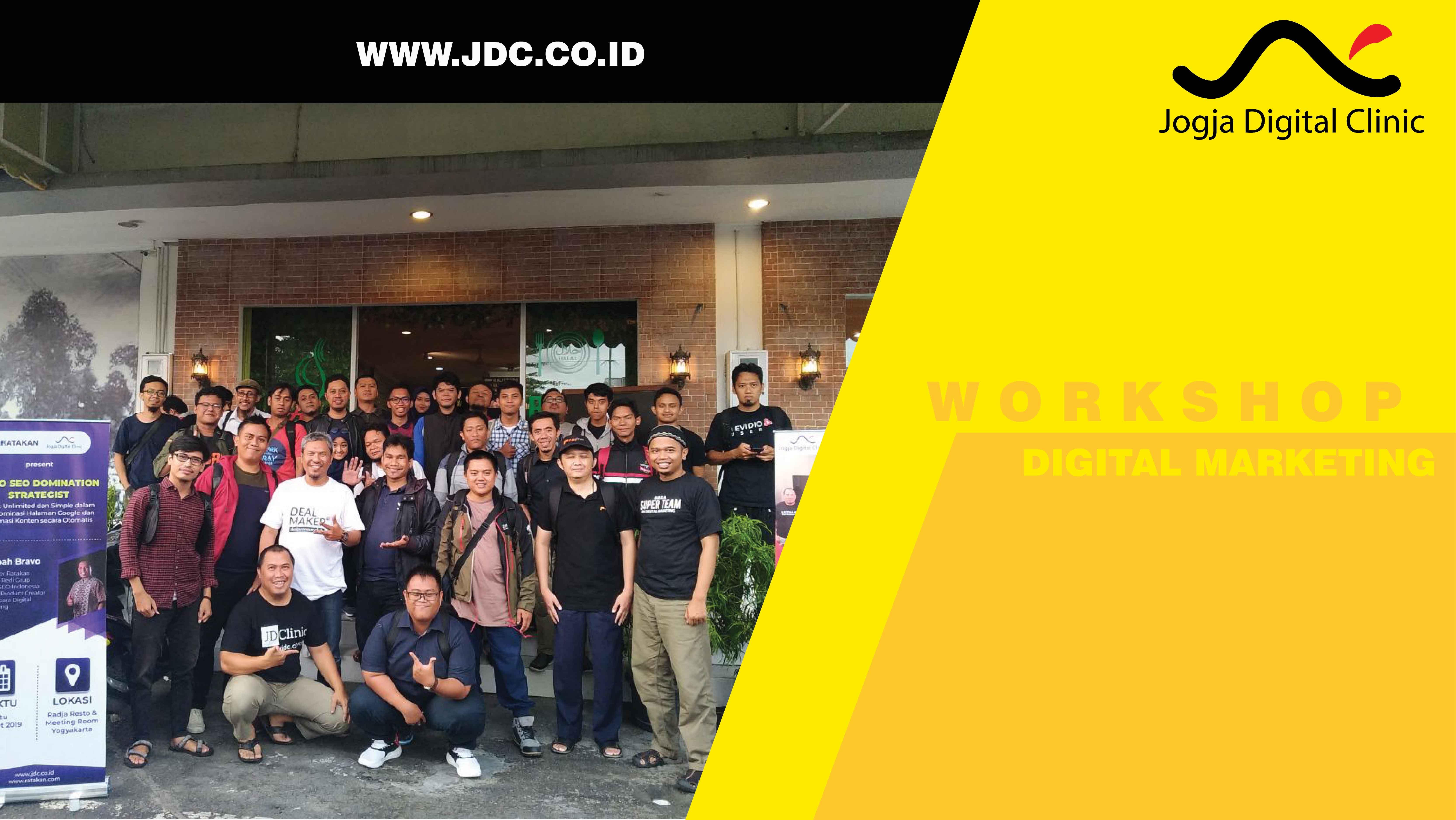 workshop digital marketing jdc