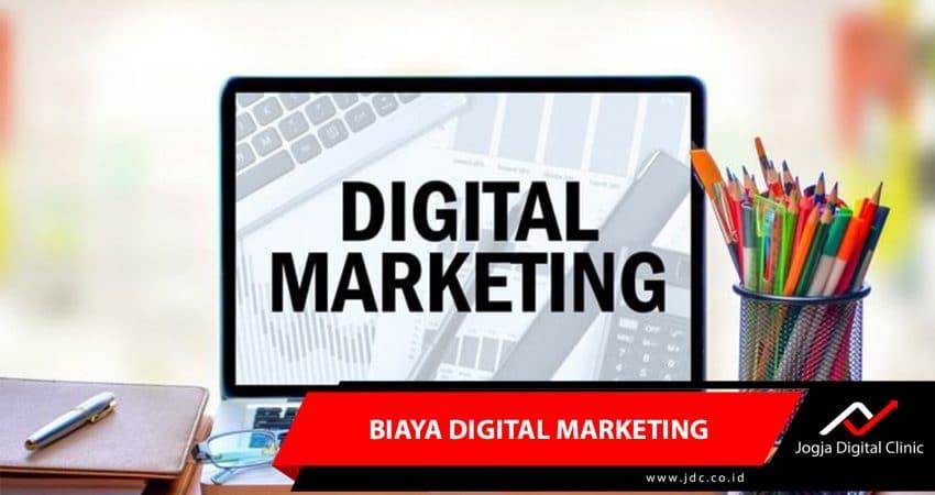 Biaya Digital Marketing