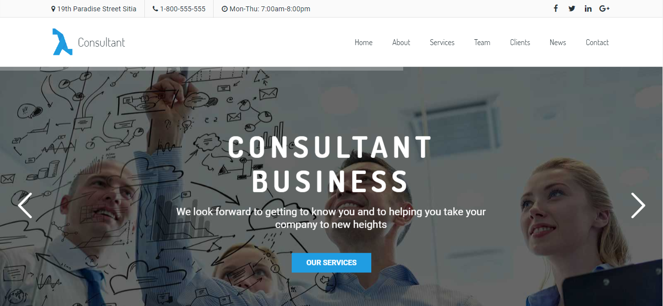 Template Konsultan Bisnis