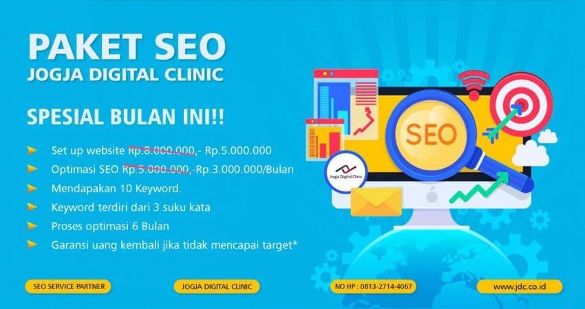 Jasa SEO Jogja Digital Clinic