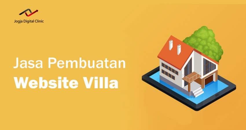 Jasa Pembuatan Website Villa